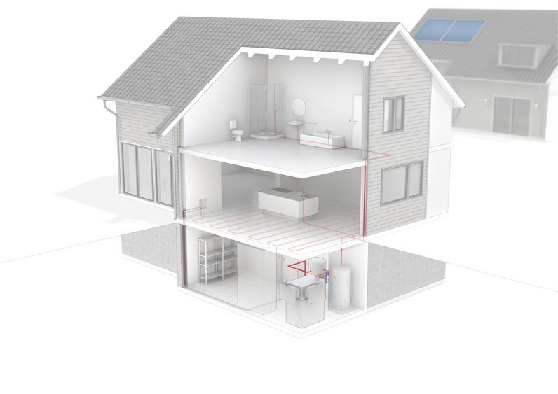 ttl 13 e luft wasser w rmepumpen von tecalor. Black Bedroom Furniture Sets. Home Design Ideas