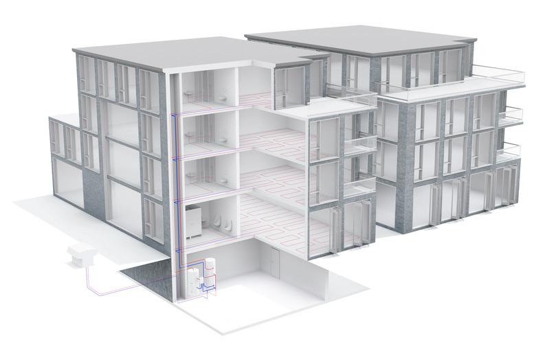 ttl 47 luft wasser w rmepumpen von tecalor. Black Bedroom Furniture Sets. Home Design Ideas